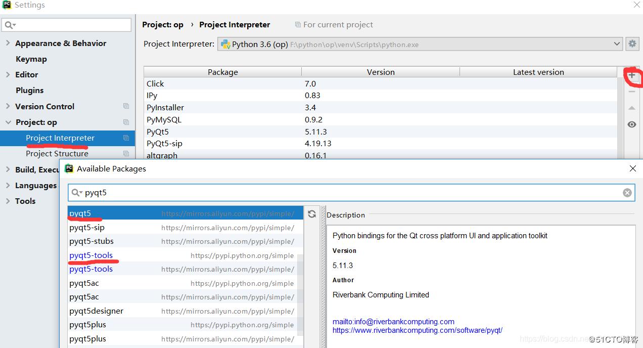 Python GUI pycharm+Pyqt5 配置及打包成exe - 代码天地