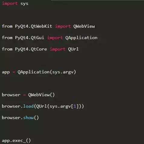 如何用Python开发一个简单的Webkit 浏览器- python学习者的