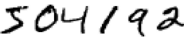 handwritten digits