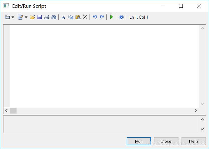 VBS 代码窗口