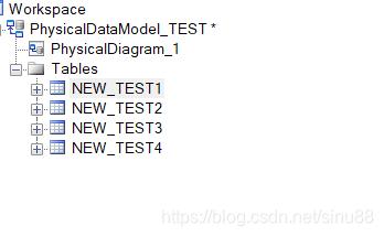 PowerDesigner 批量修改表前缀-2
