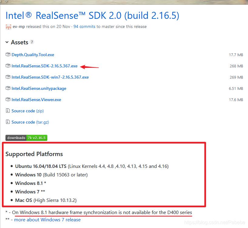 Window10 intel realsense D435安装并实现opencv显示realsense读取的彩色
