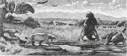 """《人月神话》中最著名的插图""""焦油坑"""""""