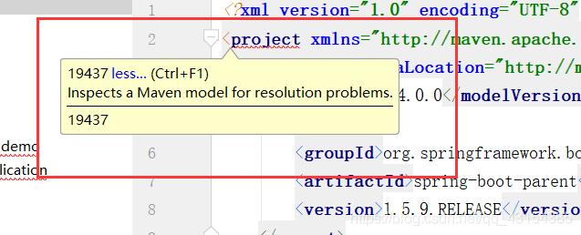 创建springboot工程project标头报错(web,test依赖架包报错