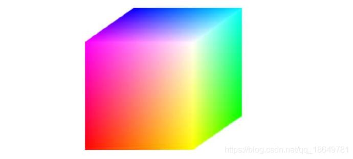 RGB彩色立方体
