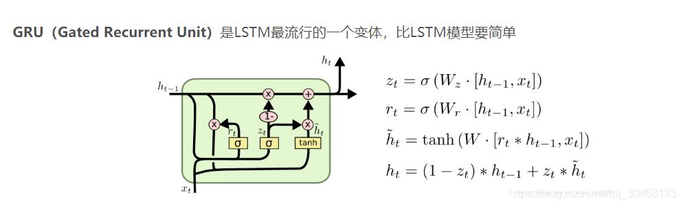LSTM和GRU原理及pytorch程式碼,輸入輸出大小說明- IT閱讀