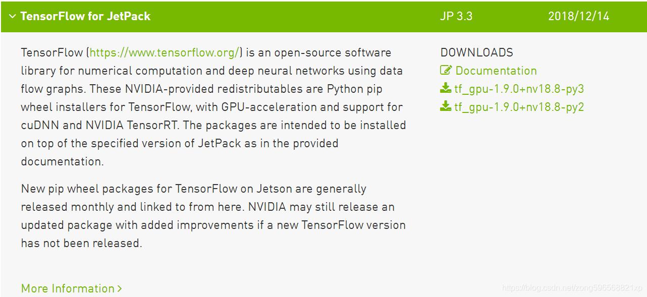 TX2之tensorflow环境部署(最简单) - ZONGXP的博客- CSDN博客