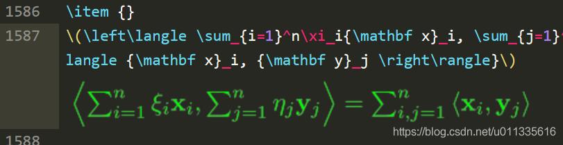 预览的公式, 公式及背景色可以自行改变