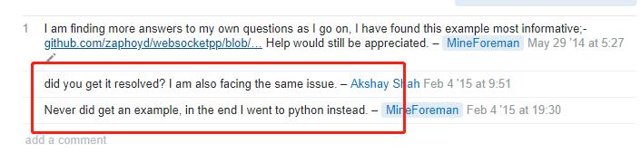 纪念一下windows下vs2015 websocket client爬出来的坑!!!! - Sylar