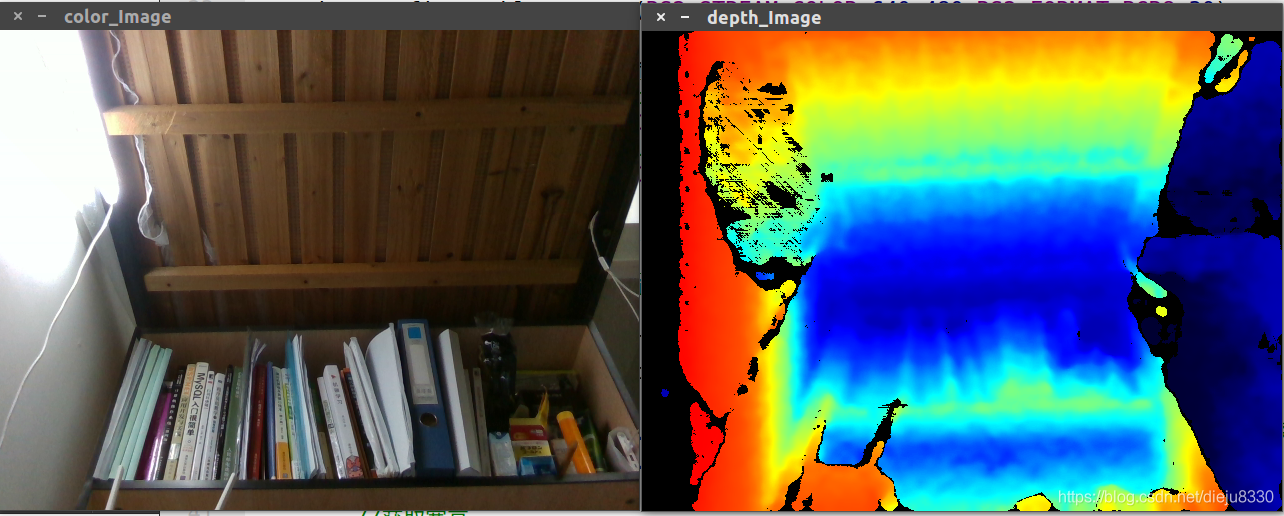 realsense SDK2 0学习::(一)读取D435视频【彩色&&深度