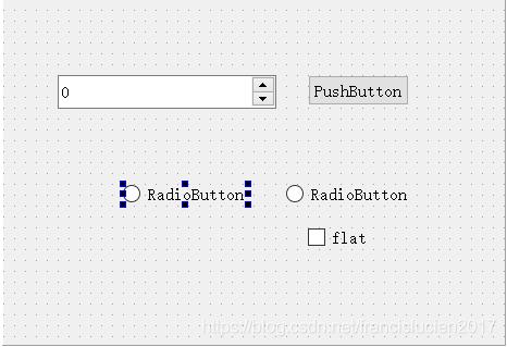 Qt5:输入控件QPushButton/ QToolButton/ QRadioButton