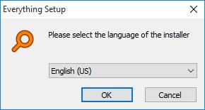 一切安装程序语言