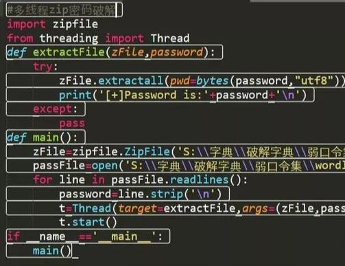 Python Zipfile Password