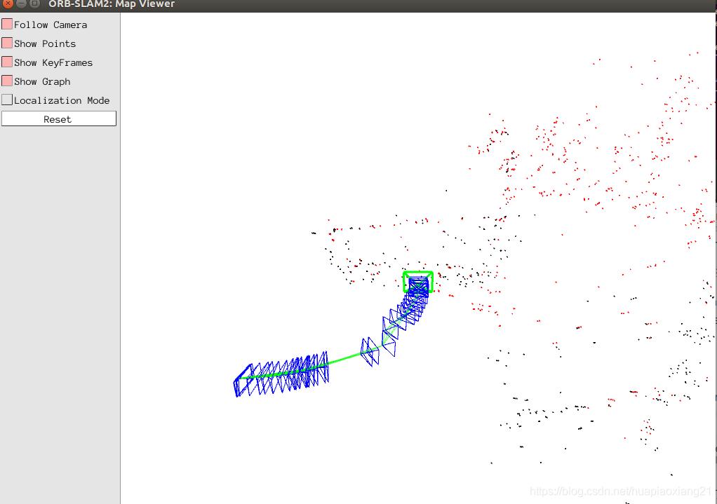 Ubuntu 16 04 ORB_SLAM2+ROS+kinect1+AR+rgbd数据集+三维稀疏