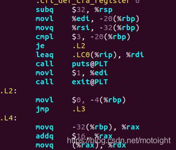 图3.8 hello.s中的算术操作