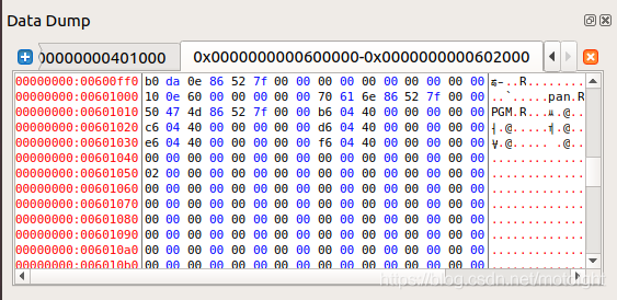 图 5.11 dl_init 后GOT表