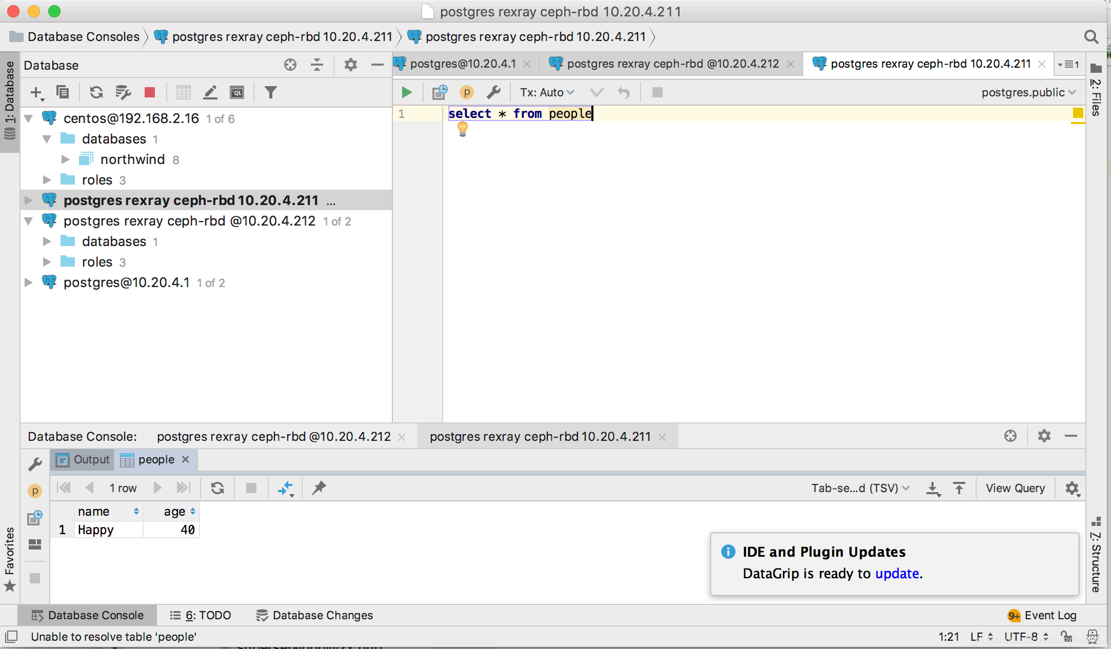 rexray docker ceph-rbd 实现无状态数据库docker容器实战