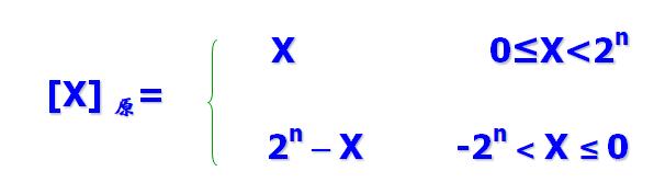 当X为定点整数时