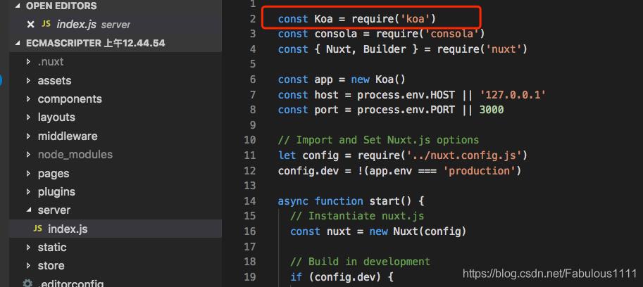 Nuxt js项目不识别import原因及解决方法- XGQ - CSDN博客