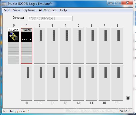 Allen-Bradley PLC Studio 5000 Logix Emulate V30 0使用方法