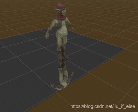 图5:quad使用mirror.shader