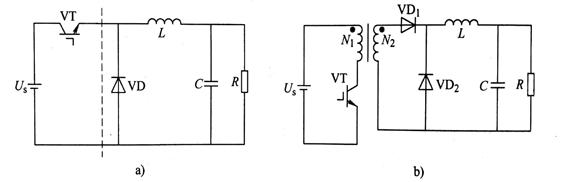 图2-1-3 变换器与单端正激