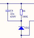 图3-2 RCD箝位电路