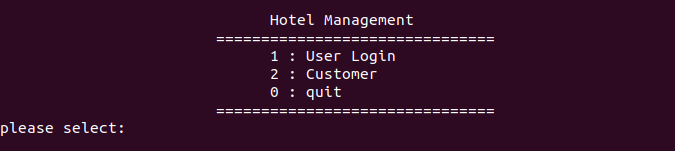 login system