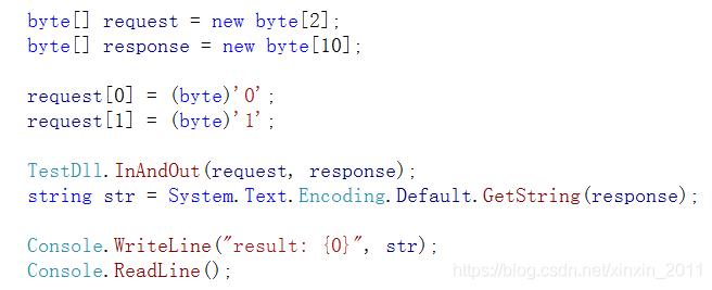 调用传递字符串函数