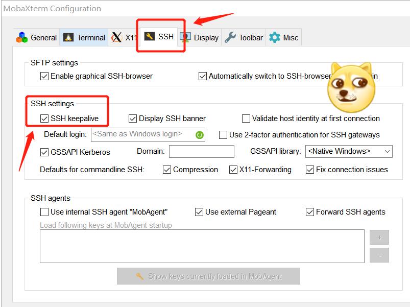 MobaXterm远程连接经常中断- 槿梓的博客- CSDN博客