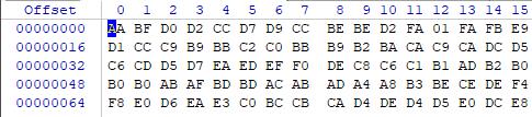 用WINHEX打开了一个.bin文件