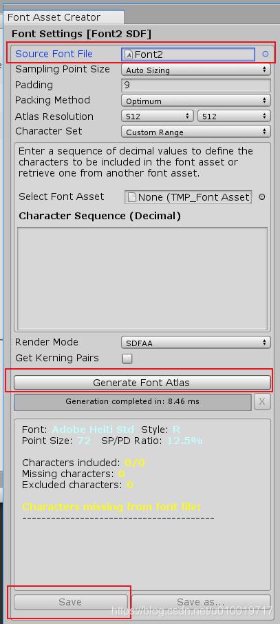 关于TextMeshPro 1 4版本对中文支持不友好方案【Font Fallback