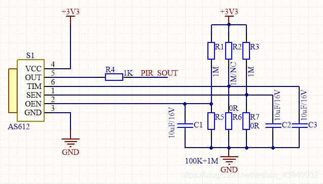 传感器配置电路
