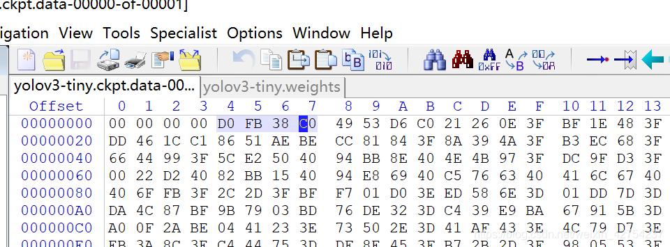Darknet模型与Tensorflow模型相互转换- weixin_42754237的博客