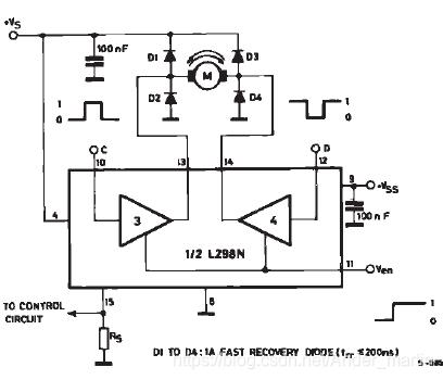 L298N应用电路