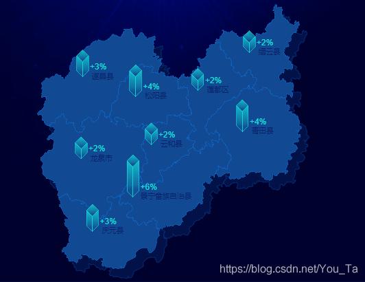 D3.js绘制地图