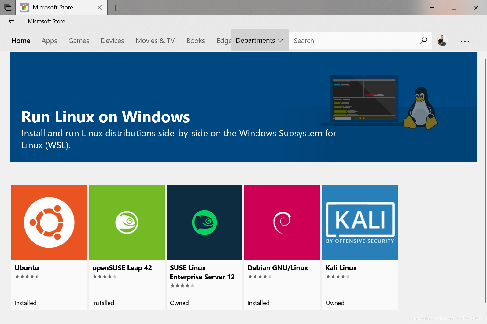 应用商店Linux选择