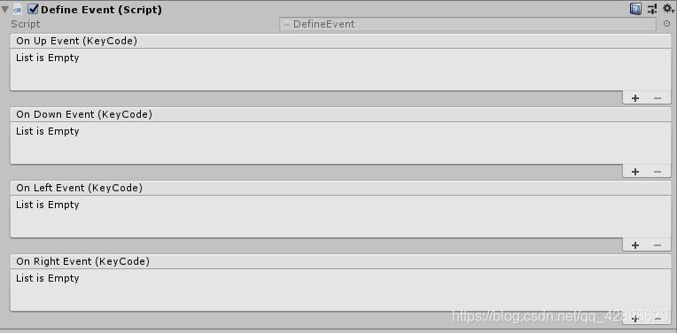 Unity如何将自己定义的事件显示在Inspector面板 - 第1张  | 逗分享开发经验