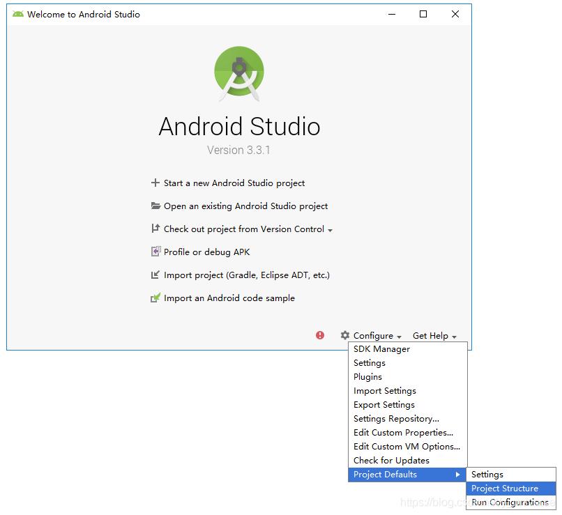 Android Studio配置本地SDK