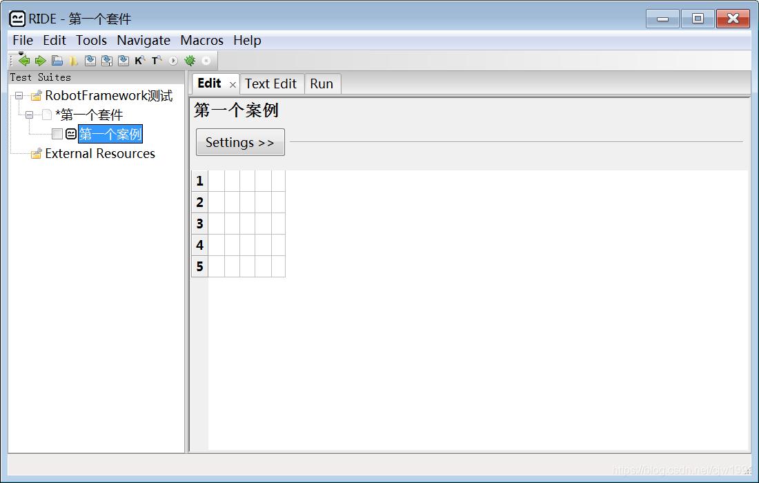 Robot Framework测试环境搭建(python3 7 2,pip在线安装)及RIDE