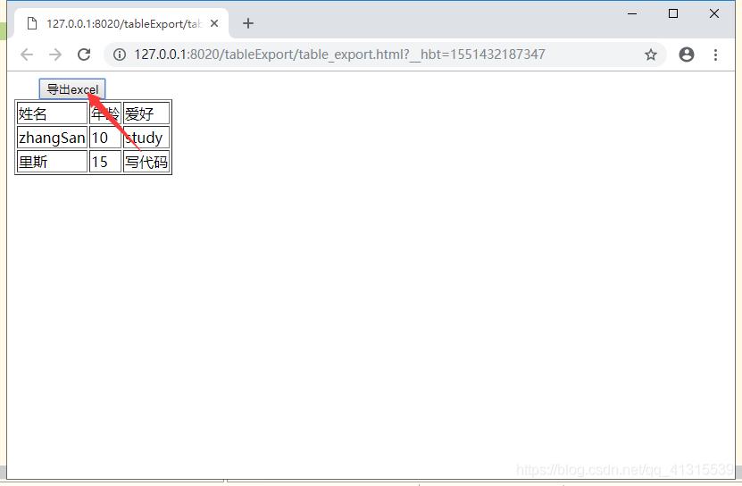 解决tableExport导出Excel过程中中文乱码和没有响应的问题_殇之何伤的博客-CSDN博客