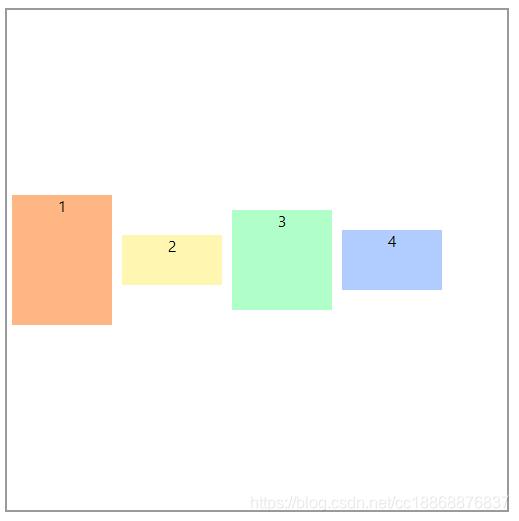 单行设置高度:align-items: center;