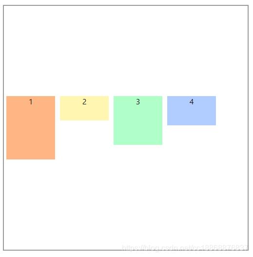 单行设置高度,flex-wrap: wrap; align-content: center;