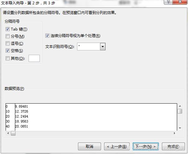 数据处理:Excel读取txt文本- la_fe_的博客- CSDN博客