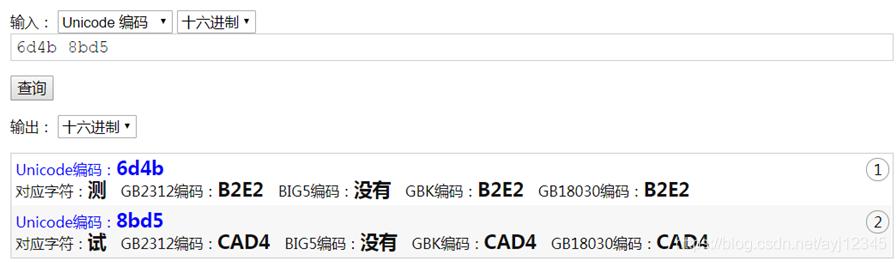 标记Unicode2