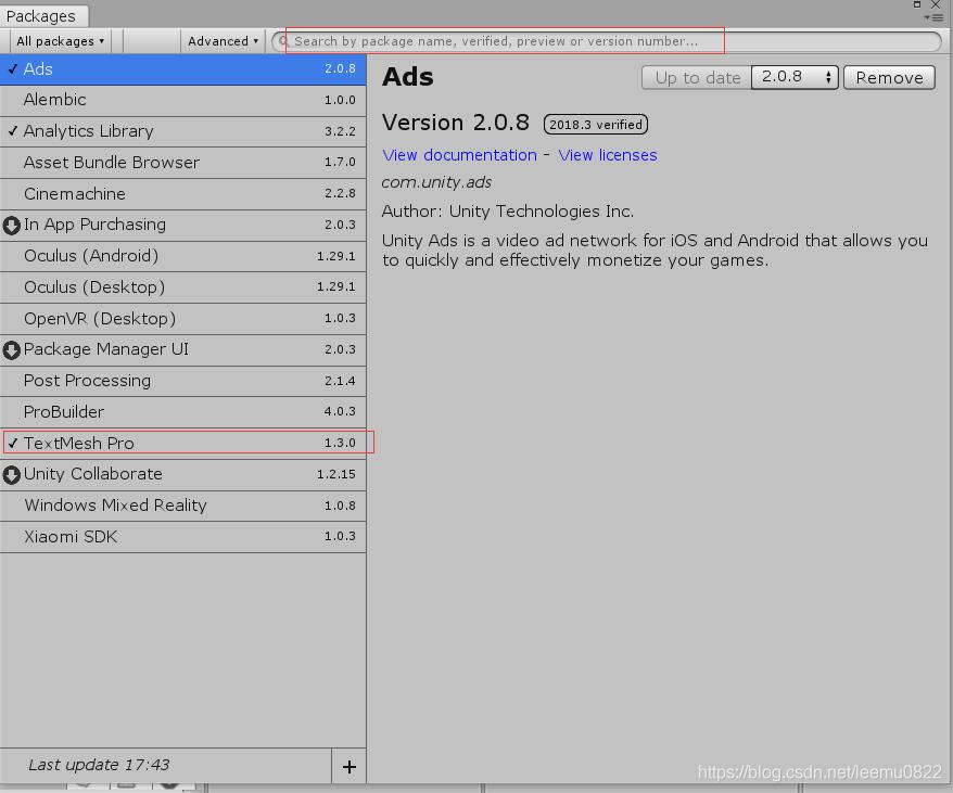 Unity3D 使用TextMeshPro中文字体- leemu0822的博客- CSDN博客