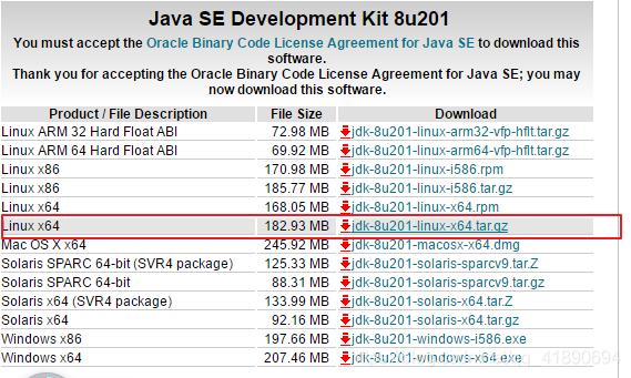 jdk-8u201-linux-x64.tar.gz