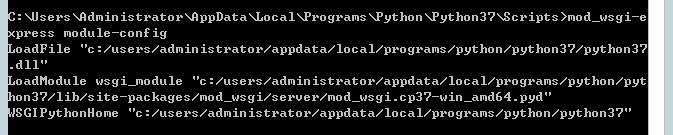 Windows Server 2012 R2利用Apache、mod_wsgi部署Python中的django项目