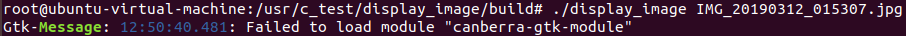 """Falied to load module """"canberra-gtk-module"""""""
