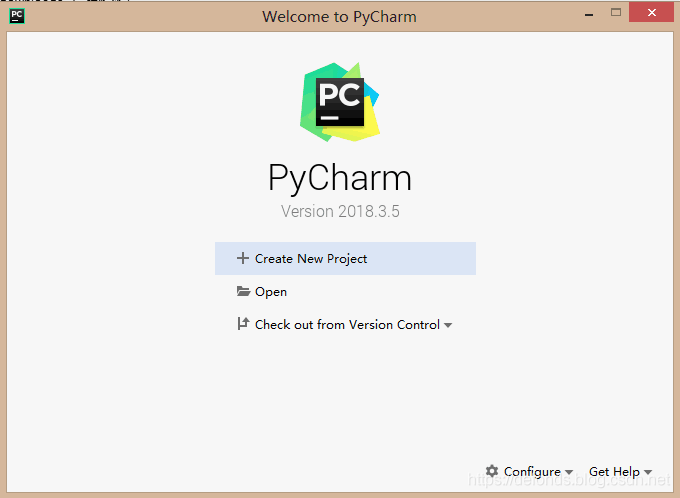 Welcome to PyCharm 页面.png